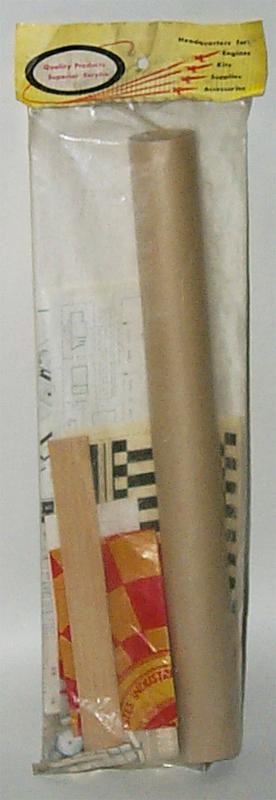 Vintage Estes Rockets K41 Mercury RedstoneRockets